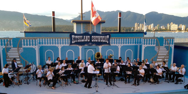 West                 Vancouver Band playing at Kitsilano Showboat